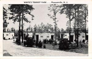 Pleasantville New Jersey Whites Tourist Park Street View Antique Postcard K50265