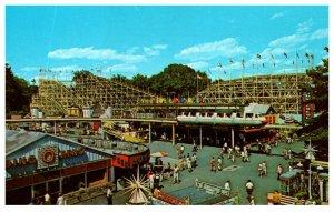 Massachusetts Agawam  Riverside Park Roller Coaster