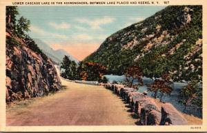 New York Adirondacks Lower Cascade Lake Curteich