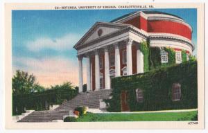 Rotunda, U of VA, Charlottesville VA