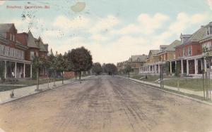 HAGERSTOWN , Maryland , PU-1910 , Broadway