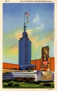 IL - Chicago. 1933 World's Fair, Century of Progress. Hall of Science