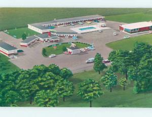 Unused Pre-1980 MOTEL SCENE Carlisle - Near Harrisburg Pennsylvania PA F7468