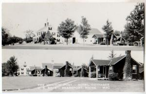 RPPC, Hitchin Post Motel Cottages, Searsport ME