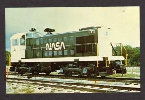 FL NASA Switcher Railroad Train No 2 CAPE CANAVERAL FLORIDA Postcard RR PC
