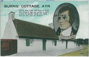 VINTAGE POSTCARD: GB - Ayrshire, Scotland -  AYR - 1925 : MULTIPLE VIEWS