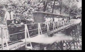 Michigan Benton Harbor House Of David Miniature Train