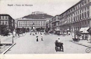 Piazza Del Municipio, Napoli (Campania), Italy, 1900-1910s