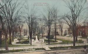 New York Syracuse Fayette Park