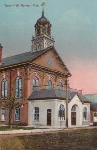AYLMER , Ontario , 1900-10s ; Town Hall