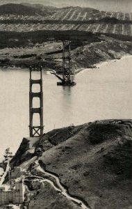 CA - San Francisco. Golden Gate Bridge. (5) Marin Construction
