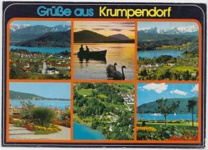 Grusse aus Krumpendorf, Austria, used Postcard