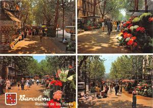 B33178 Barcelona Diversos aspectes Rambla de las flores spain