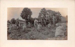 Farmers in Fort Fairfield, Maine