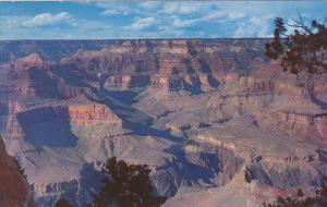 Grand Canyon Near Pima Point Arizona Fred Harvey 1965