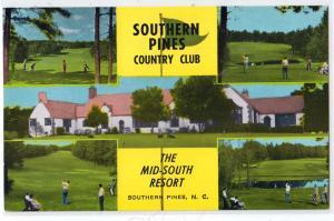 Golf Club, Southern Pines Country Club NC