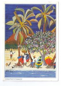 Antilles Frangipani Tree Catherine Gallian Saint Clair Art