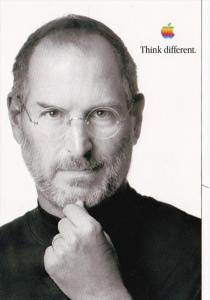 Advertising Apple Think Different Steve Jobs