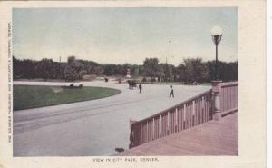 View in City Park,Denver, Colorado,PU-1907