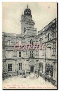 Postcard Toulouse Old Court Hotel d'Assezat