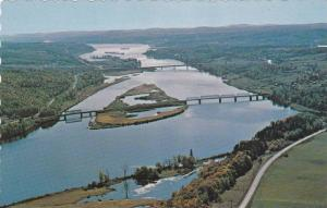 Saint John River & Valley, New Brunswick , Canada , 50-60s
