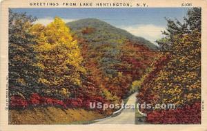 Greetings from Lake Huntington NY 1954