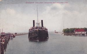 Oceanliner/Steamer/Ship Holland, Chicago And Holland Line, 1900-1910s