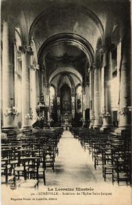 CPA  Luneville - Lunéville - Interieur de l'Eglise Saint-Jacques  (484204)
