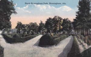 North Birmingham Park - Birmingham AL, Alabama - pm 1914 - DB