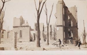 RP, CHELSA , Massachusetts, Fire of April 12, 1908 ; Burnt Bldgs #4