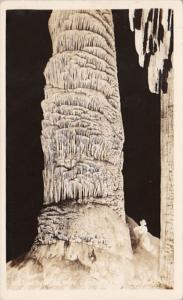 New Mexico Carlsbad Caverns National Park Rock Of Ages Real Photo