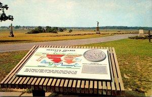Pennsylvania Gettysburg Pickett's Charge Marker