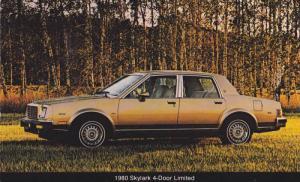 1980 Skylark 4-Door Limited, PU-1979