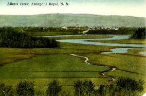 Canada - Nova Scotia, Annapolis Royal. Allen's Creek
