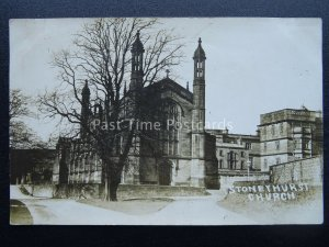 Lancashire Clitheroe STONYHURST St. Peters Church - Old RP Postcard