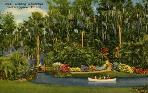 FL - Cypress Gardens. Winding Waterways