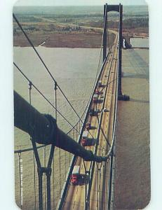 Pre-1980 BRIDGE SCENE Deepwater New Jersey To Wilmington Delaware DE H7989