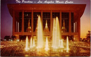 Los Angeles Music Center CA The Pavilion Unused Vintage Postcard F65