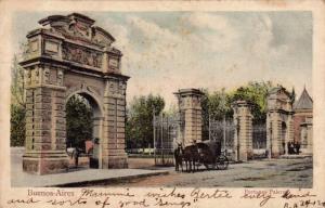 Horse Cart, Portones Palermo, Buenos Aires, Argentina, 1900-1910s
