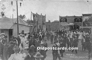 Oshkosh, Wisconsin, WI, USA Postcard Mid Way, White City 1907