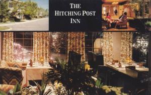 Scenic Greetings from Hitching Post Inn, Cheyenne, Wyoming,PU-1940-1960s