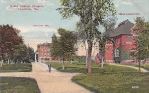 Maine Lewiston Bates College Campus