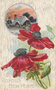Red Flowers , A Joyous NEW YEAR , 00-10s