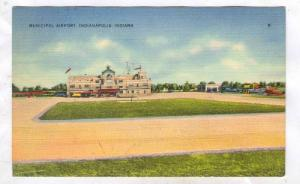 Municipal Airport, Indianapolis , Indiana, 1930-40s