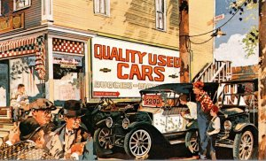 Advertising OK Used Cars and Trucks 1913 Baby Grand Chevrolet