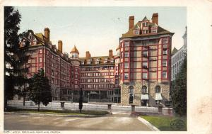 Portland Oregon~Hotel Portland~Detroit Publishing Co~#5215~1907 Postcard/