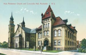 Holy Redeemer Church and Concordia Hall - Rochester, New York - DB