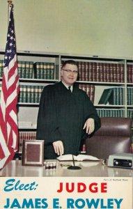 HOOKSTOWN , Pennsylvania, 1950-60s ; Elect Judge James E. Rowley