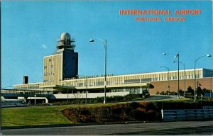 International Airport Portland Oregon Vintage Postcard Standard View Card
