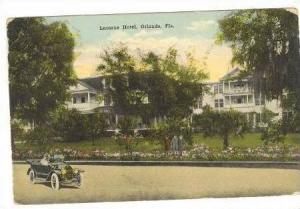 Lucerne Hotel, Orlando, Florida, 1919 PU